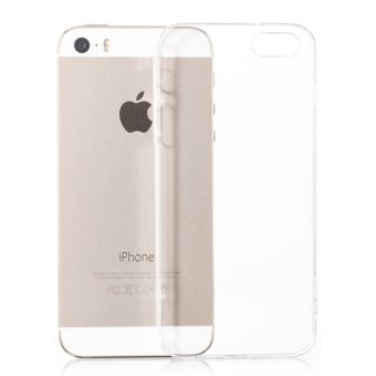 Ốp lưng silicon Hoco dành cho Iphone 5/5S/SE (Trong suốt)