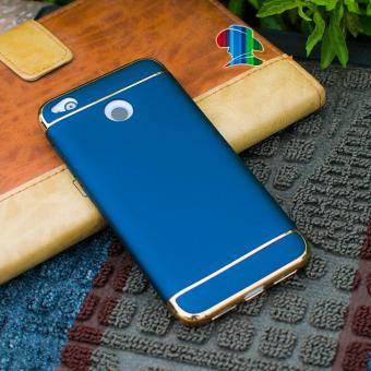 Ốp lưng Xiaomi Redmi 4X nhựa bóng đầu (xanh)