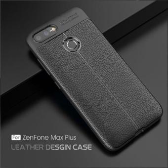 Ốp lưng Zenfone Max Plus M1 giả da chống sốc...