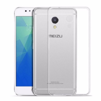 Ốp Silicon cho Điện thoại Meizu M5S ( Trắng trong)