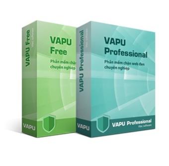 Phần mềm chặn web đen VAPU Pro 1.0