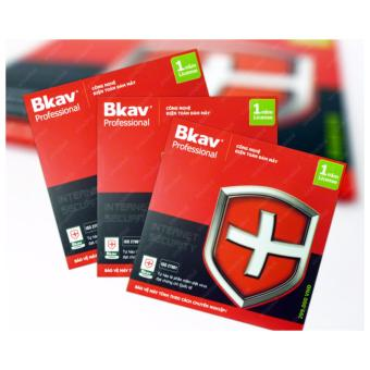 Phần mềm diệt virus Bkav Pro - Internet Securty 1 năm