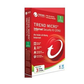 Phần mềm diệt virus Trend Micro Internet Security 2015- Hàng nhậpkhẩu