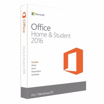 Phần mềm Office Microsoft Home and Student 2016
