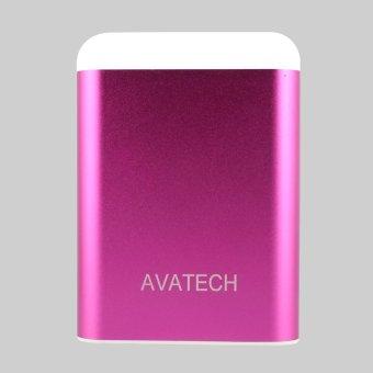 Pin sạc dự phòng kiêm đèn LED AVATECH AVT-03 12000mAh (Hồng)