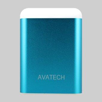 Pin sạc dự phòng kiêm đèn LED AVATECH AVT-03 12000mAh (Xanh)