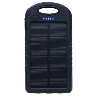 Pin sạc dự phòng năng lượng mặt trời tích hợp đèn LED AVATECH12000mAh (Đen)