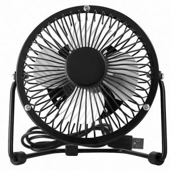 Portable USB Mini Fan (Color:Black) - intl