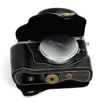 PU Leather Camera Case Bag Cover for Fujifilm X70 Black - intl - 8411683 , OE680ELAA8ON3CVNAMZ-16939944 , 224_OE680ELAA8ON3CVNAMZ-16939944 , 996660 , PU-Leather-Camera-Case-Bag-Cover-for-Fujifilm-X70-Black-intl-224_OE680ELAA8ON3CVNAMZ-16939944 , lazada.vn , PU Leather Camera Case Bag Cover for Fujifilm X70 Black -