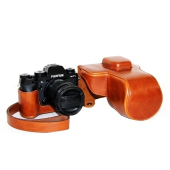 PU Leather Camera Case Bag Cover for Fujifilm XT1 Brown - intl - 8415953 , OE680ELAA972YYVNAMZ-18205994 , 224_OE680ELAA972YYVNAMZ-18205994 , 652680 , PU-Leather-Camera-Case-Bag-Cover-for-Fujifilm-XT1-Brown-intl-224_OE680ELAA972YYVNAMZ-18205994 , lazada.vn , PU Leather Camera Case Bag Cover for Fujifilm XT1 Brown -