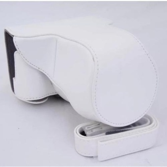 PU Leather Camera Case Bag for Fuji XA3 - intl