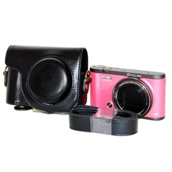 PU Leather Camera Case for Casio ZR5500 ZR3600 ZR3500 - intl