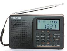 Radio Tecsun PL-606 (Đen)