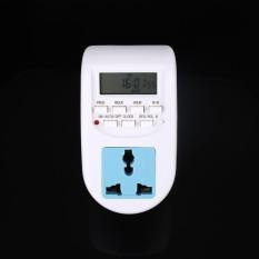 Ready Stock AL-06 Programmable Timer Switch Socket Digital LCD Display EU Plug Compact - intl