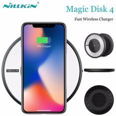 Giá bán Sạc nhanh không dây Qi Nillkin Magic Disk 4 cho iPhone X – Nillkin Magic Disk 4 Fast Charger QI Wireless Charger For iPhone X