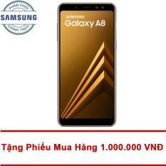 Bảng Báo Giá Samsung Galaxy A8 32GB RAM 4GB 5.6inch (Vàng) – Tặng Mã Giảm Giá 1.000.000 VNĐ – Hãng phân phối chính thức