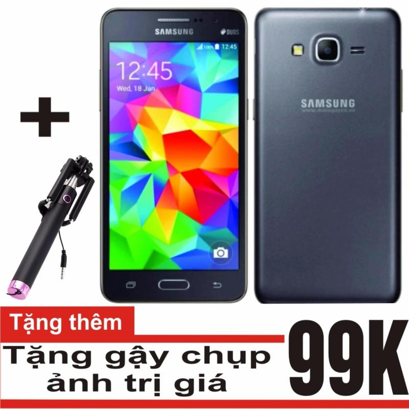 Samsung Galaxy Grand Prime G530 8GB (Đen) - Hàng nhập khẩu + Gậy chụp ảnh