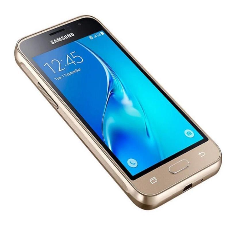 Samsung Galaxy J1 2016 Vàng - Hàng phân phối chính thức + Gậy selfie Monopod