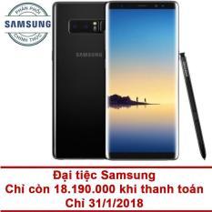 Cập Nhật Giá Samsung Galaxy Note 8 64GB RAM 6GB 6.3 inch (Đen) – Hãng phân phốichính thức