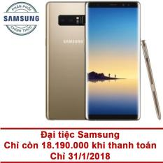 Samsung Galaxy Note 8 64GB RAM 6GB 6.3 inch (Vàng) – Hãng phân phốichính thức