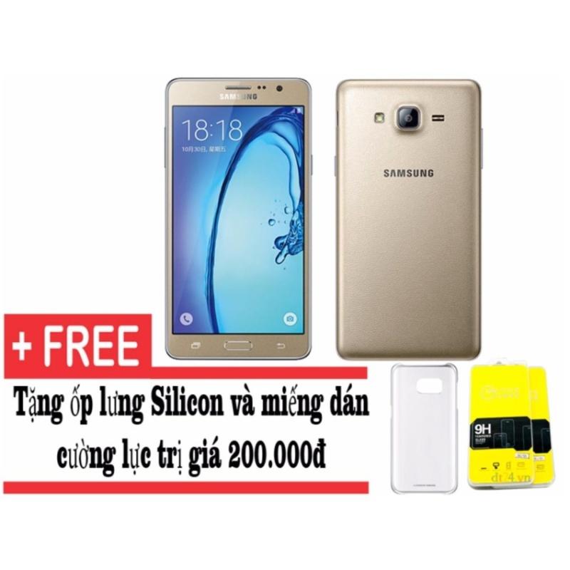 Samsung Galaxy On7 16GB (vàng) - Hàng nhập khẩu + Tặng ốp lưng và dán màn hình