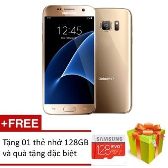 Samsung Galaxy S7 32GB (Vàng) + Tặng kèm Thẻ nhớ 128Gb + Quà tặngđặc biệt