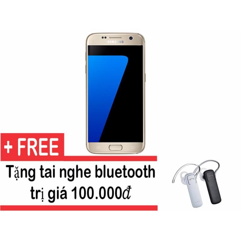 Samsung Galaxy S7 32GB (Vàng) + Tặng tai nghe bluetooth- Hàng nhập khẩu