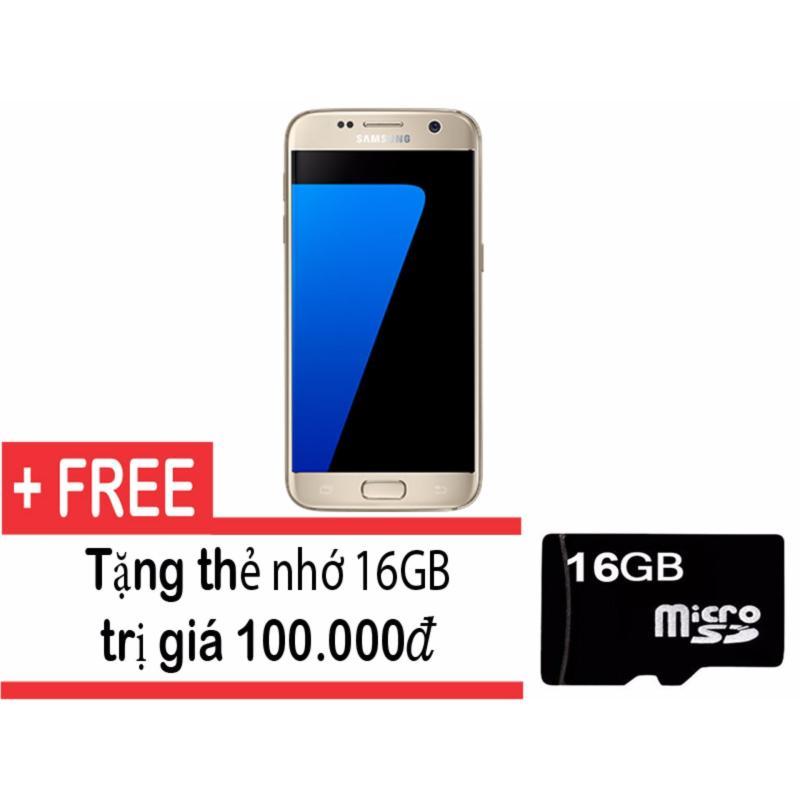 Samsung Galaxy S7 32GB (Vàng) + Tặng thẻ nhớ 16gb- Hàng nhập khẩu
