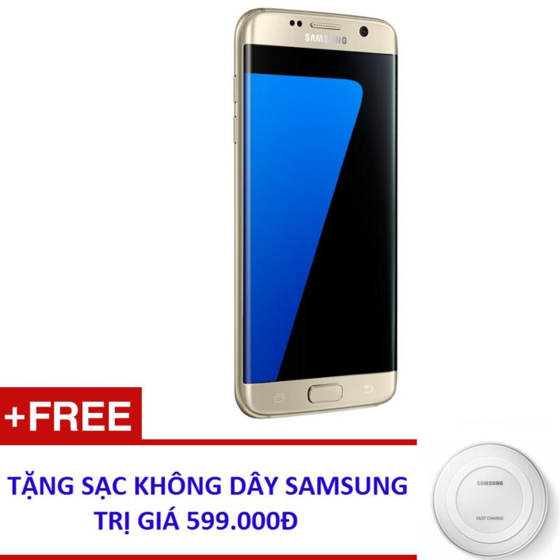 Samsung Galaxy S7 Edge 32GB G935 (Vàng) - Hàng nhập khẩu + Tặng sạc nhanh không dây Samsung