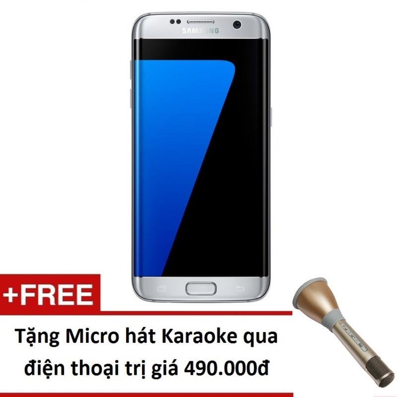 Samsung Galaxy S7 Edge G935 32GB (Bạc) - Hàng nhập khẩu + Tặng Micro hát Karaoke trên điện thoại