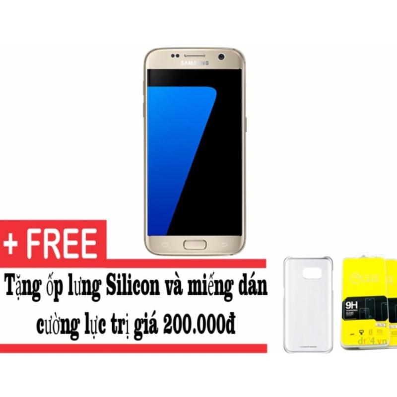 Samsung Galaxy S7 G930 32GB (Vàng) - Hàng nhập khẩu + Tặng ốp lưng và dán cường lực