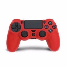 Giá bán Silicone Rubber Soft Skin Cover Case Protective Sleeve Case for PS4 Controller Grip Handle – intl