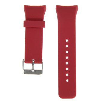 ... Silicone Watch Band Strap For Samsung Galaxy Gear S2 SM-R720(Red) ...