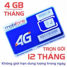 Giá Sim 3G 4G Mobifone MDT250A Trọn Gói (4GB/Tháng)-[CAM KẾT ĐỦ 12 THÁNG]