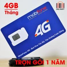 Báo Giá Sim 4G Mobifone MDT250A Trọn Gói 1 Năm Không Cần Nạp Tiền