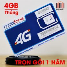 Bảng Báo Giá Sim 4G Mobifone MDT250A trọn gói không cần nạp tiền (KM 4GB/tháng)  Dâu Mart