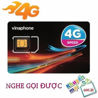 Sim 4G VinaPhone Vừa Nghe Gọi Vừa Vào Mạng (60GB/Tháng)