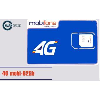 SIM 4G/3G MOBIFONE DATA 62 GB/THÁNG
