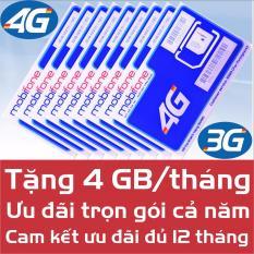 Chi tiết sản phẩm Sim Data 4G Mobi MDT250A – Trọn gói 1 năm – Miễn phí 4G/Tháng