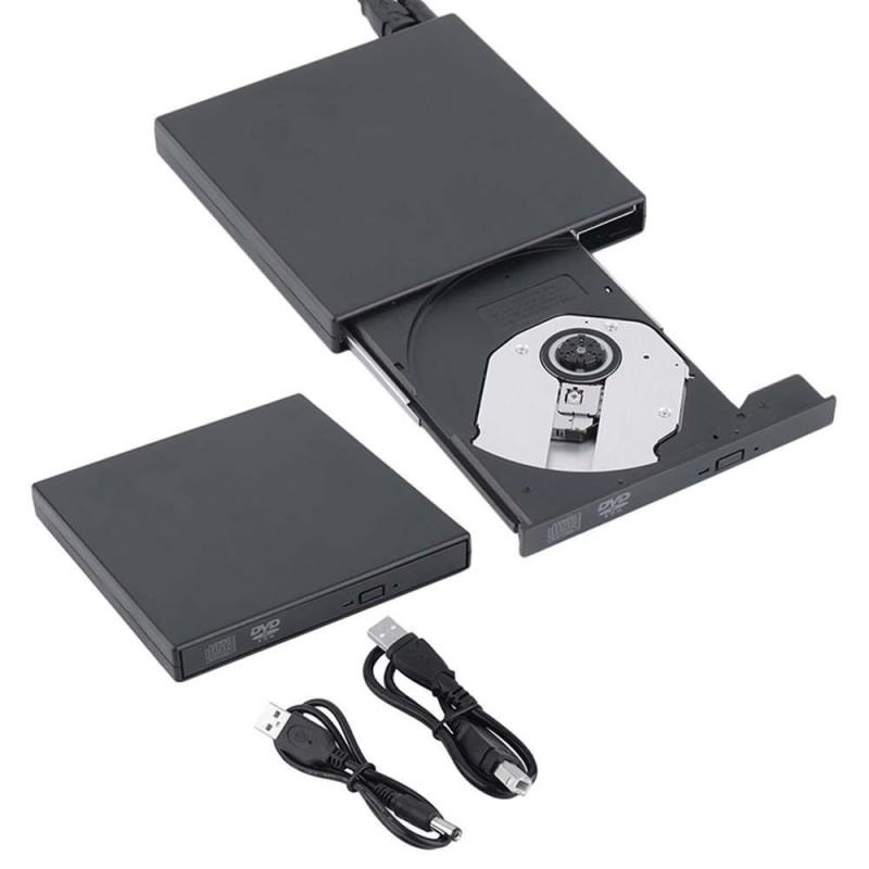 Bảng giá Slim Portable USB 2.0 Ultra External DVD-ROM CD-RW Burner Writer Driver For PC - intl Phong Vũ