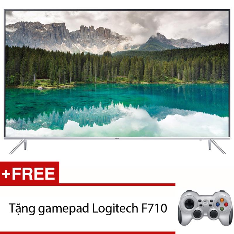 Bảng giá Smart Tivi LED Samsung 55inch 4K – Model UA55KU6400KXXV (Đen) + Tặng gamepad Logitech F710