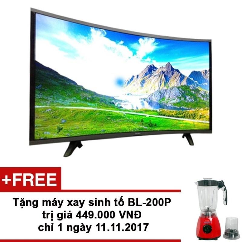 Bảng giá Smart TV Asanzo màn hình cong 40 inch HD - Model AS40CS6000 (Đen) + Tặng máy xay sinh tố BL-200P trị giá 449,000 VNĐ từ 11-14/12/2017