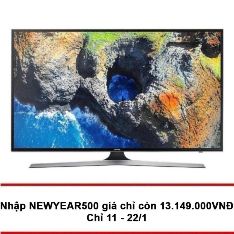 Smart TV Samsung 50 inch 4K UHD - Model UA50MU6100AK (Đen) - Hãng Phân phối chính thức chính hãng