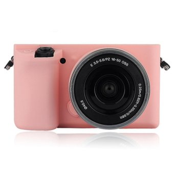 Soft Silicone Rubber Camera Case for Sony ILCE-6000 A6000 - intl