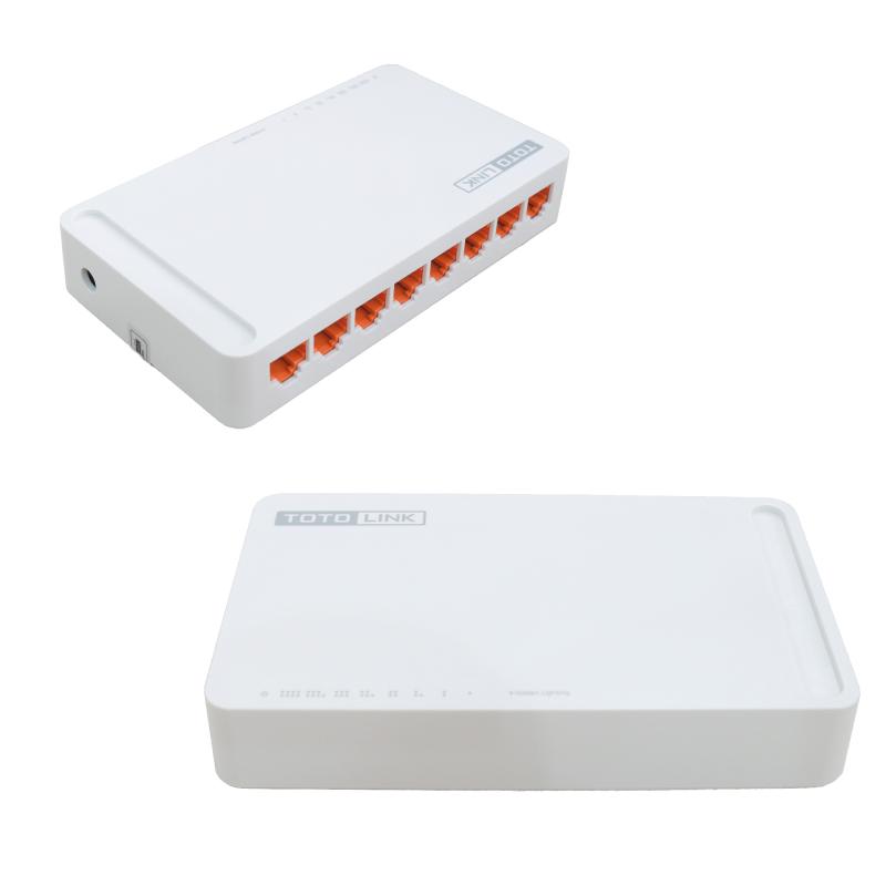 Bảng giá Switch TOTOLINK 8 port S808 100Mbps Phong Vũ
