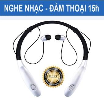 Tai nghe bluetooth 4.0 thể thao Pin 15h HBS 900 S (Bạc)