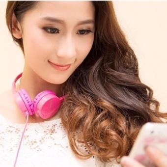 Tai nghe chụp tai Kanen IP600 cao cấp Hanghot365 (Hồng)