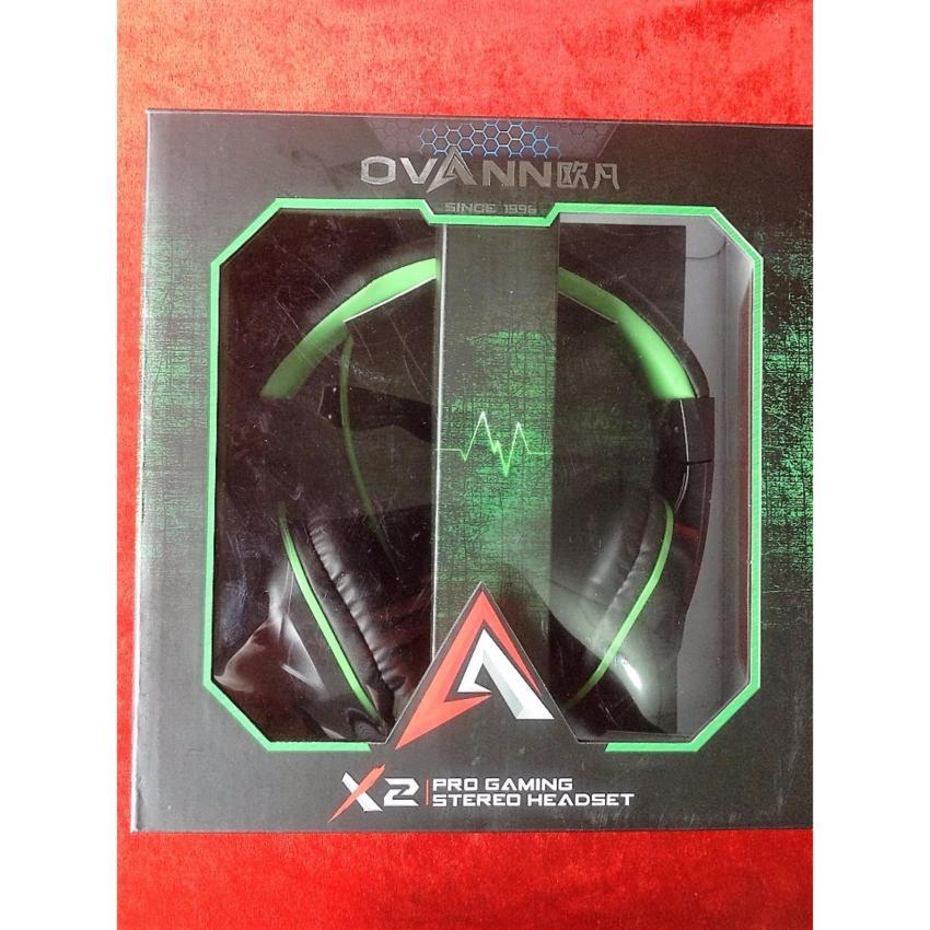 Tai nghe chụp tai kèm mic Ovan X2