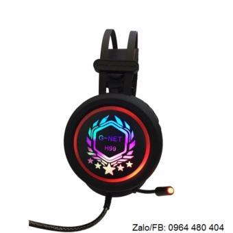 Tai nghe game Gnet H99 (Đen)