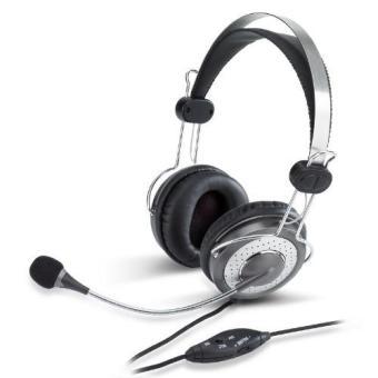Tai nghe Genius chụp tai có mic HS-04SU (Đen) (Đen)